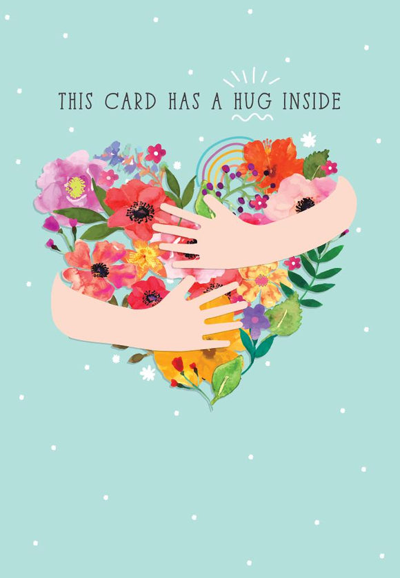 Greeting Card - 'Care' Card Hug