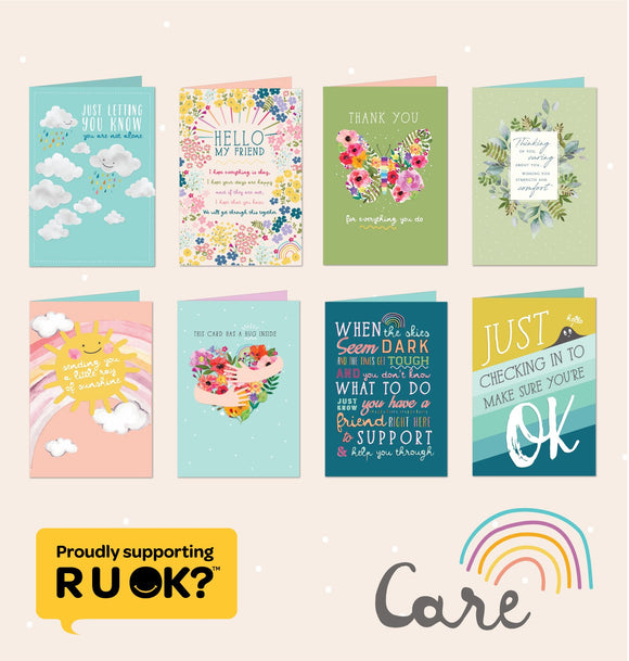 Variety Pack of 8 Greeting Card Designs