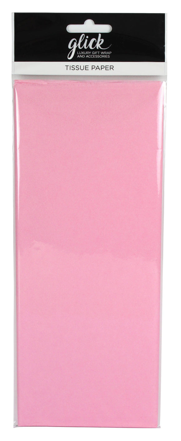 Gift Packaging - Tissue Paper 4 Sheets Light Pink