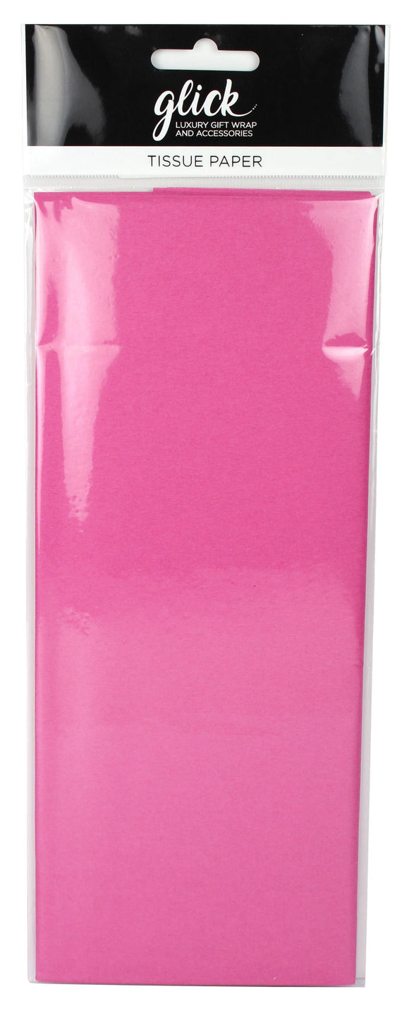 Gift Packaging - Tissue Paper 4 Sheets Hot Pink
