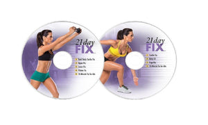 21 Day Fix Workout Program Deluxe Kit Complete Fitness 4 DVD Set & Resistance Band - Aydenns