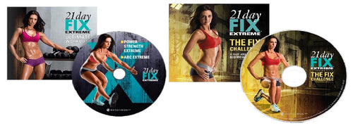 21 Day Fix Extreme Ultimate Workouts & The Fix Challenge 2 DVD Bonus Program - Aydenns