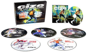 Cize The End of Exercize Dance Fitness Workout Complete Deluxe 5 DVD Program - Aydenns