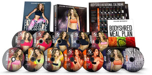 Jillian Michaels Bodyshred 12 Dvd Complete Workout Fitness Set - Aydenns