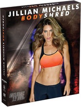 Load image into Gallery viewer, Jillian Michaels Bodyshred 12 Dvd Complete Workout Fitness Set - Aydenns