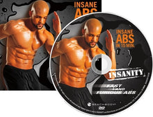 Load image into Gallery viewer, Insanity 60 Day Fast and Furious Bonus Workouts 4 DVD Program - Aydenns