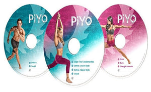 Piyo Fitness Workout DVD's The Complete Base Kit - Aydenns