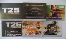 Load image into Gallery viewer, Focus T25 Workout Program Deluxe Kit Complete Fitness 14 DVD Set - Aydenns