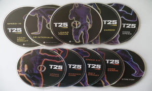 Focus T25 Workout Program Base Kit Complete Fitness DVD Set - Aydenns