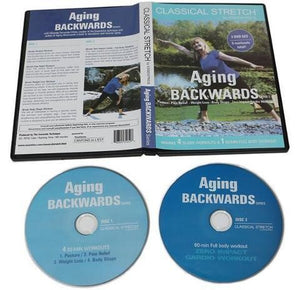 Classical Stretch Essentrics Aging Backwards Series Pain Relief Zero Impact DVD - Aydenns