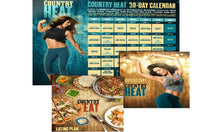 Load image into Gallery viewer, Country Heat Workout Complete Base Dance Fitness DVD's - Aydenns