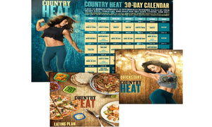 Country Heat Workout Complete Base Dance Fitness DVD's - Aydenns