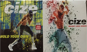 Cize Weight Loss Series & Hold Your Own Bonus Workout 3 DVD Program - Aydenns