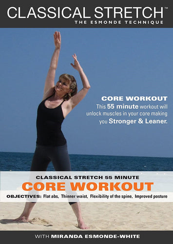 Classical Stretch The Esmonde Technique: 55 Minute Advanced Core Workout DVD - Aydenns