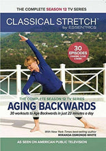 Load image into Gallery viewer, Classical Stretch by Essentrics: Season 12 Aging Backwards Fitness DVD's - Aydenns