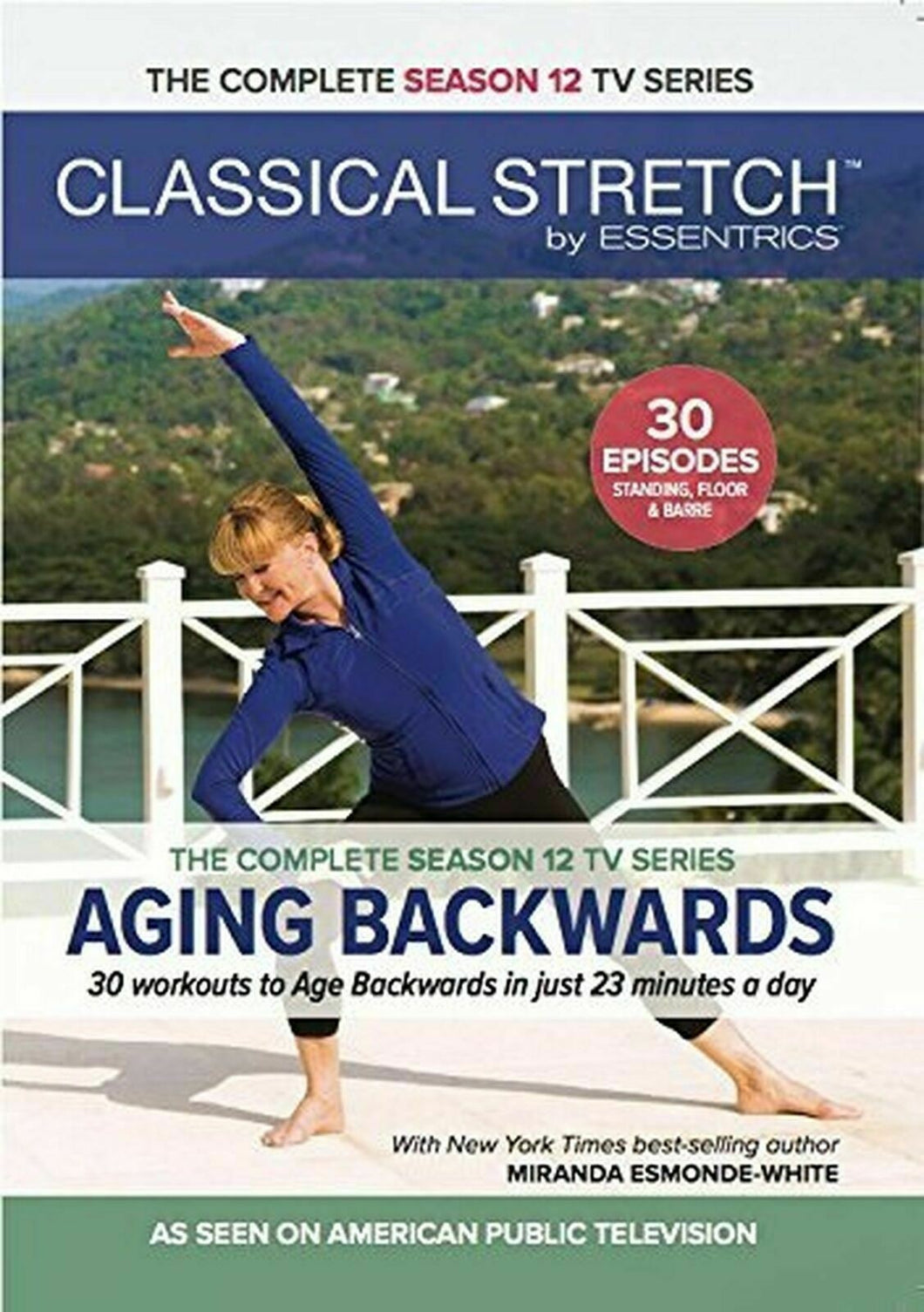 Classical Stretch by Essentrics: Season 12 Aging Backwards Fitness DVD's - Aydenns