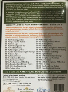 Classical Stretch by Essentrics: Season 9 Weight Loss & Pain Relief DVD's - Aydenns