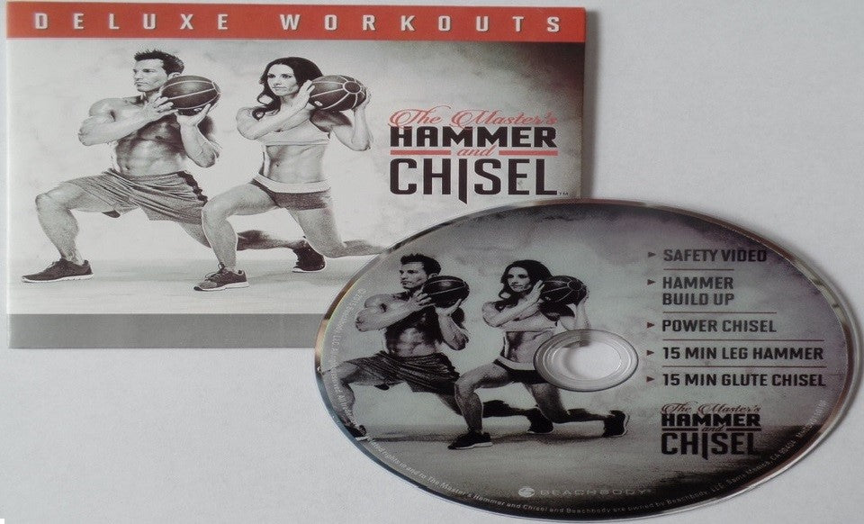 The Master's Hammer and Chisel Deluxe Workouts Bonus Workout DVD Program - Aydenns