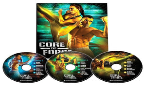 Core De Force MMA Style Workout Program Base Kit Complete Fitness 3 DVD Set - Aydenns