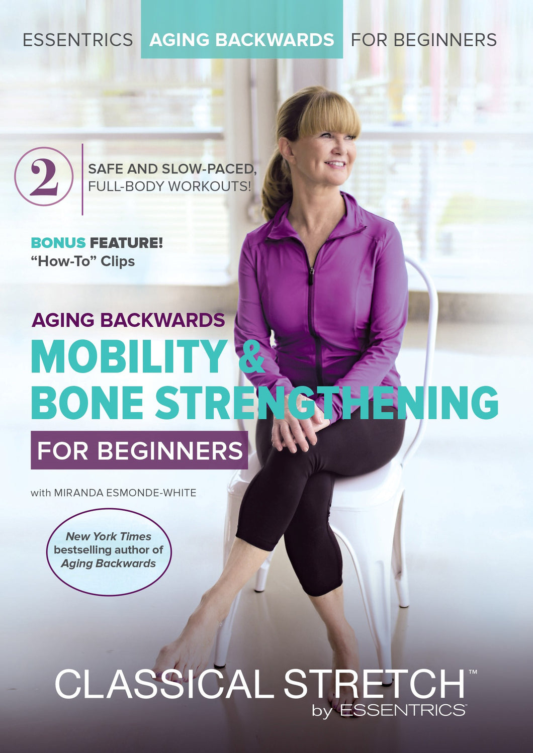 Classical Stretch Age Reversing Workouts for Beginners: Mobility and Bone Strengthening DVD - Aydenns