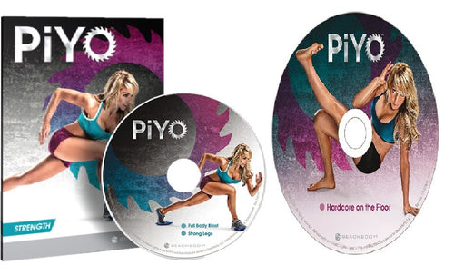 PiYo Hardcore On The Floor & Strength Fitness Workout 2 Bonus DVD's - Aydenns