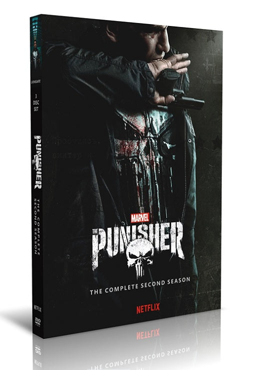 The Punisher Complete Series Season 2 DVD Boxset - Aydenns