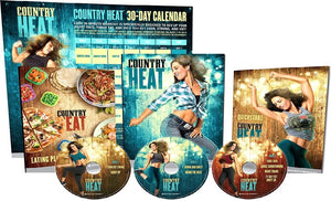 Country Heat Workout Complete Deluxe Dance Fitness 5 DVD's - Aydenns