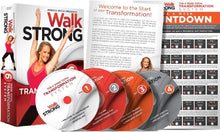 Load image into Gallery viewer, Walk Strong 6 Week Total Transformation System Jessica Smith Fitness DVD's - Aydenns