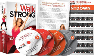Walk Strong 6 Week Total Transformation System Jessica Smith Fitness DVD's - Aydenns
