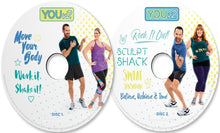 Load image into Gallery viewer, YOUv2 Fitness & Health Workout Dvd Program For Beginners - Aydenns