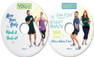 YOUv2 Fitness & Health Workout Dvd Program For Beginners - Aydenns