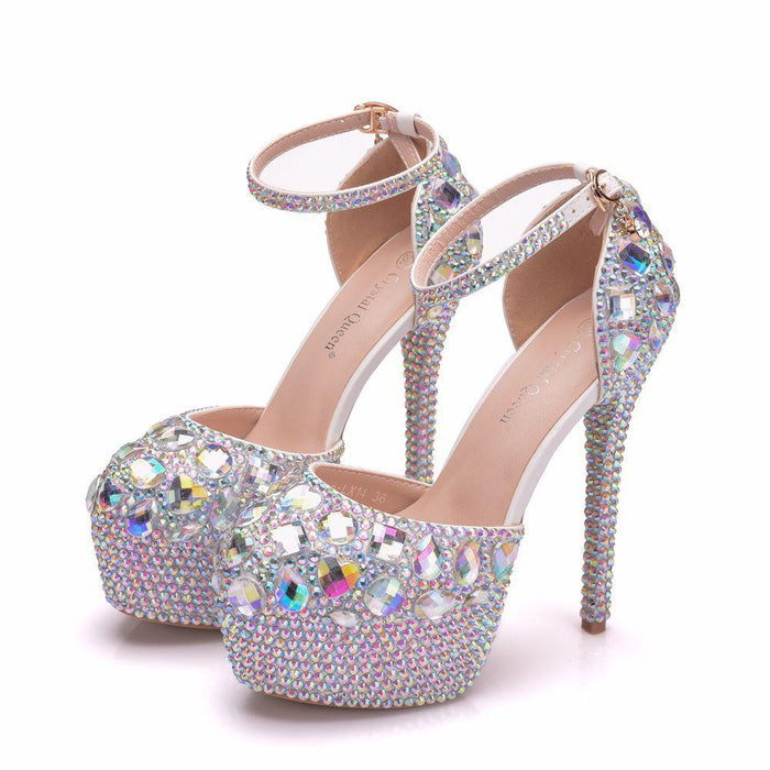 Wedding Heels - Rhinestone