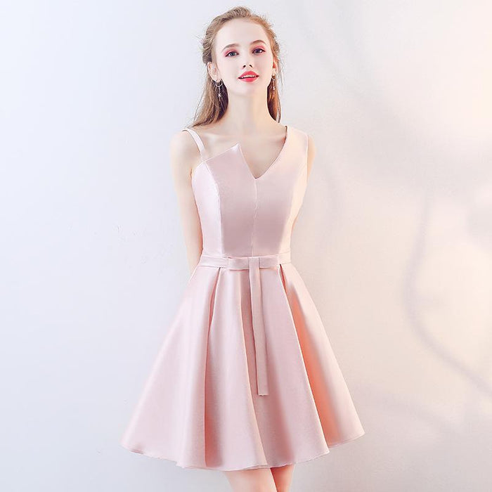 Dress satin slim long evening dress bride toast bridesmaid dress