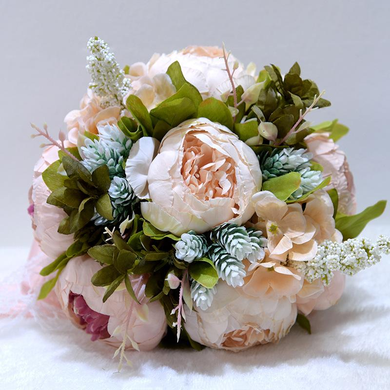 wedding bouquet, wedding flowers, bridal bouquet, boho, eucalyptus, poppy, anemone, rose, silk flowers, destination wedding, wedding, blush