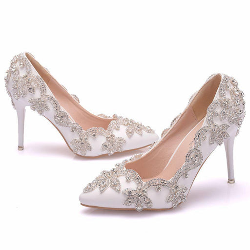 Bridal Heels -Rhinestone Dinner Jacket