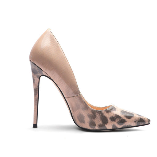 Evening  Sexy Leopard high heels
