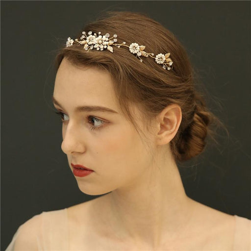 Handmade garland hair band wedding accessories bridal headdress hair band