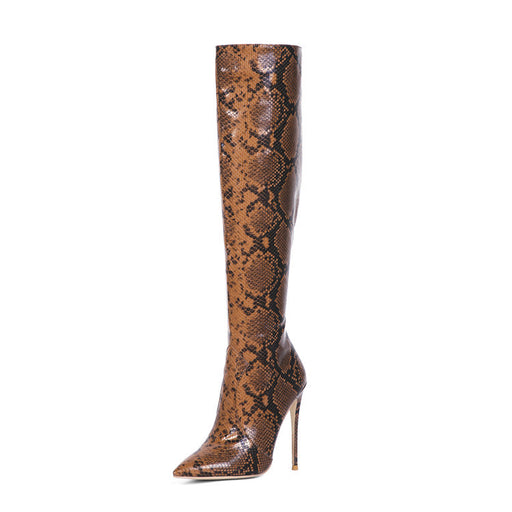 Serpentine Thigh High Boots