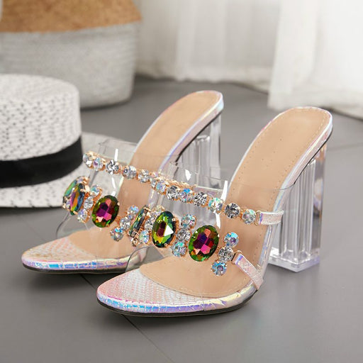 Party Rhinestones Sparkle crystal Pumps Slippers