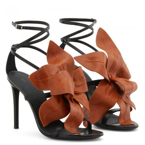 Sexy Flowers Open toe Party  High-heeled sandals