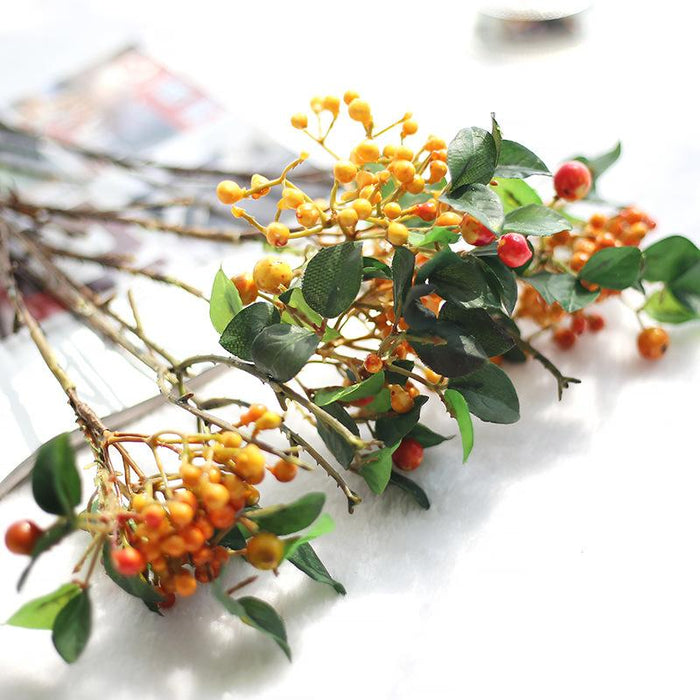 Comfyee bean vine berry plant artificial flower