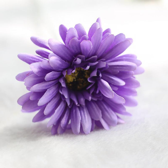 Comfyee Purple Weddings Bouquets Cheap Sunflowers Artificial Silk Flower