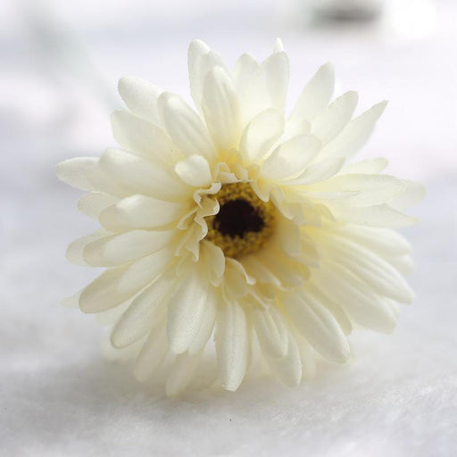 Comfyee White Weddings Bouquets Cheap Sunflowers Artificial Silk Flower