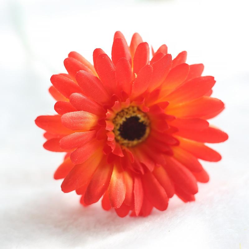 Comfyee Red Weddings Bouquets Cheap Sunflowers Artificial Silk Flower