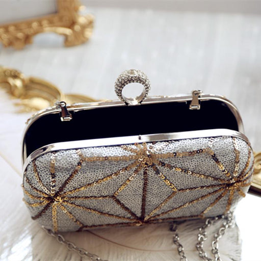 Clutch bag sequin evening bag shoulder bag