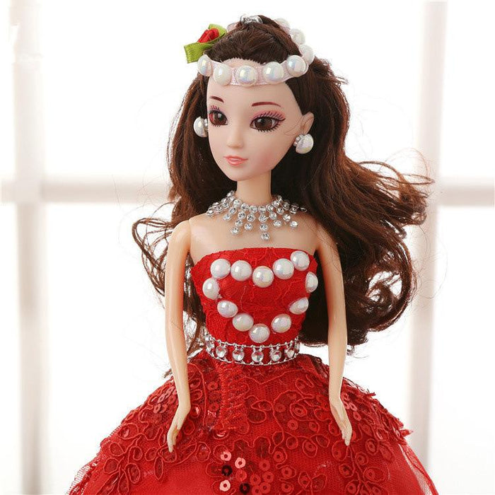 Fancy Sweet Lace Children's Toy Barbie