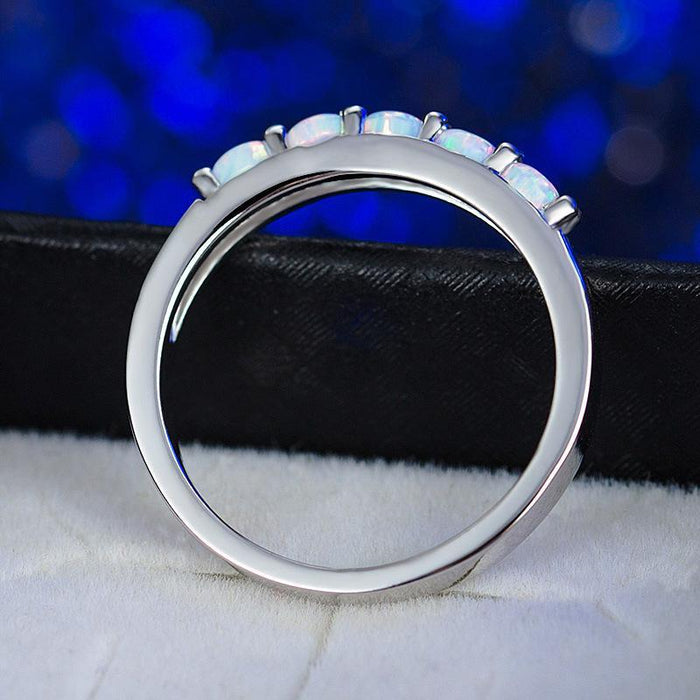 Fashion opal ring