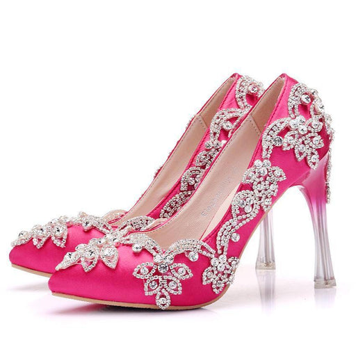 Bridal  Heels -Crystal