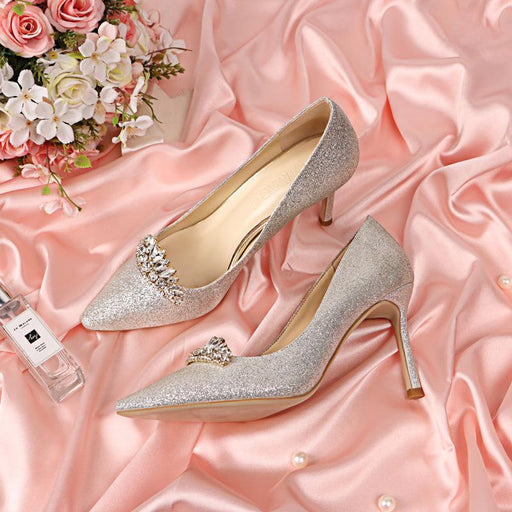 Wedding  Heels -Sequins Rhinestone