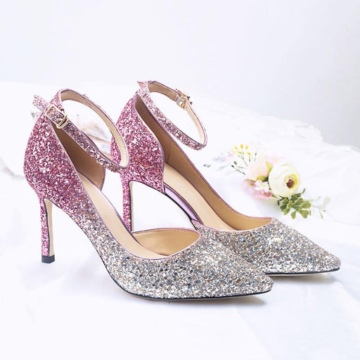 Wedding Heels  - Sequins